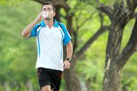 Drink Water while doing Morning Walking